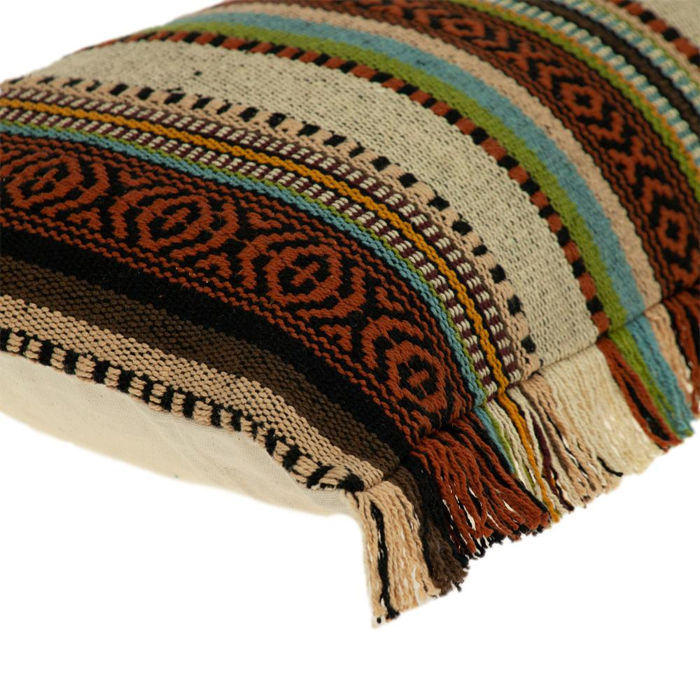 Bohemian Fringe Throw Pillow - 383093. Picture 5