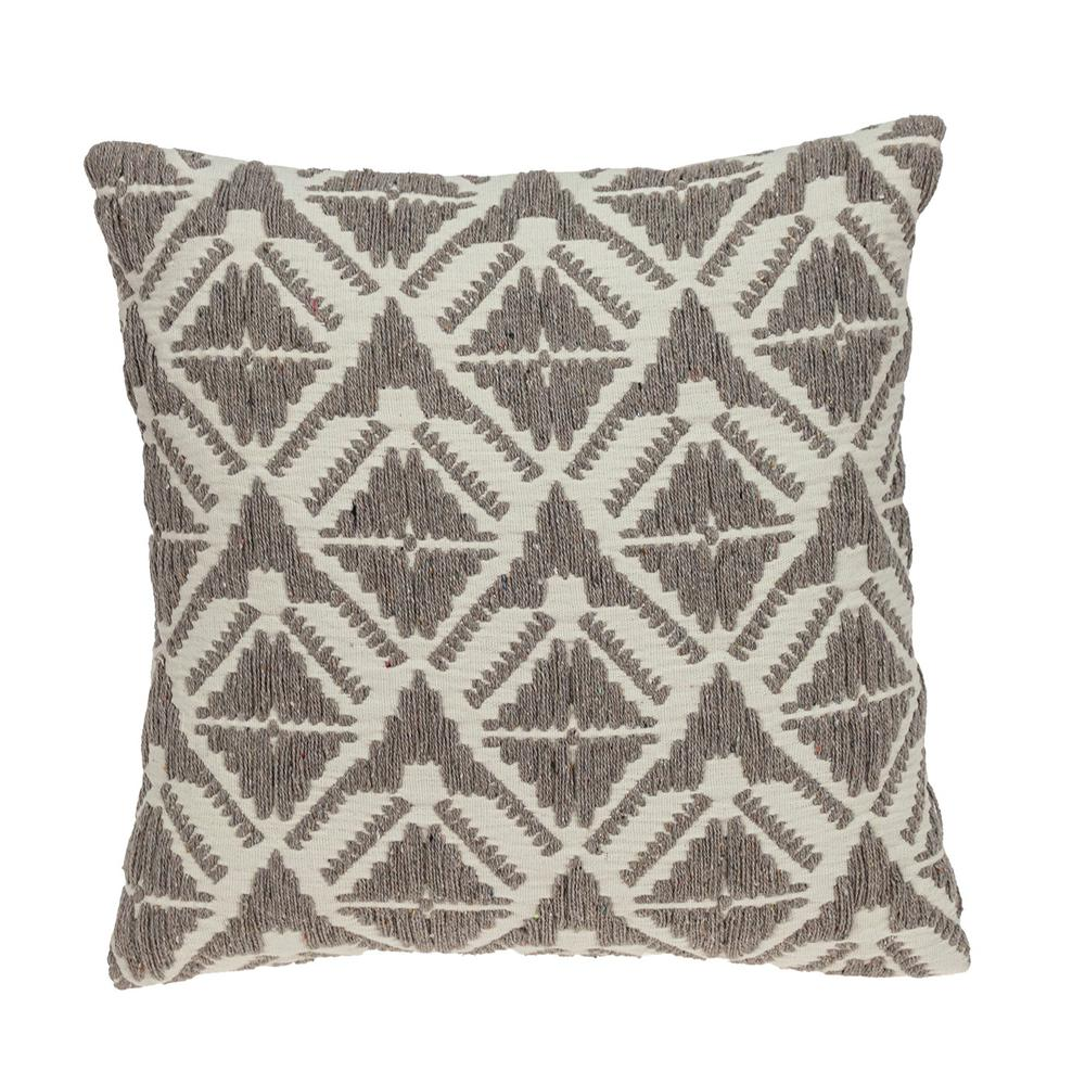 Antique Light Toned Throw Pillow - 383095. Picture 1