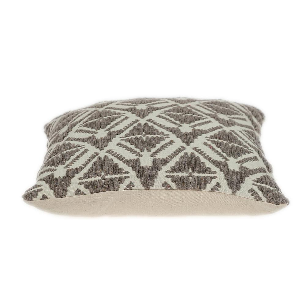 Antique Light Toned Throw Pillow - 383095. Picture 4