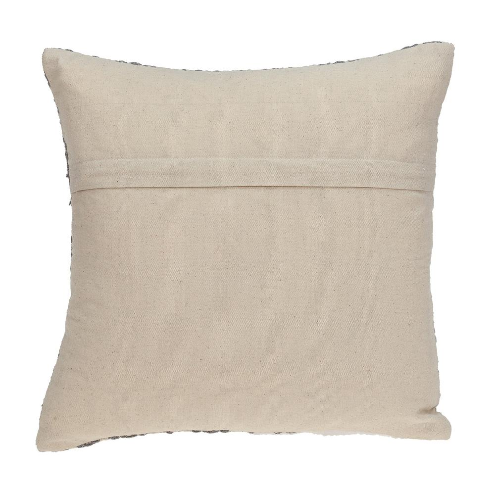 Neutral Grey Mosaic Throw Pillow - 383098. Picture 3