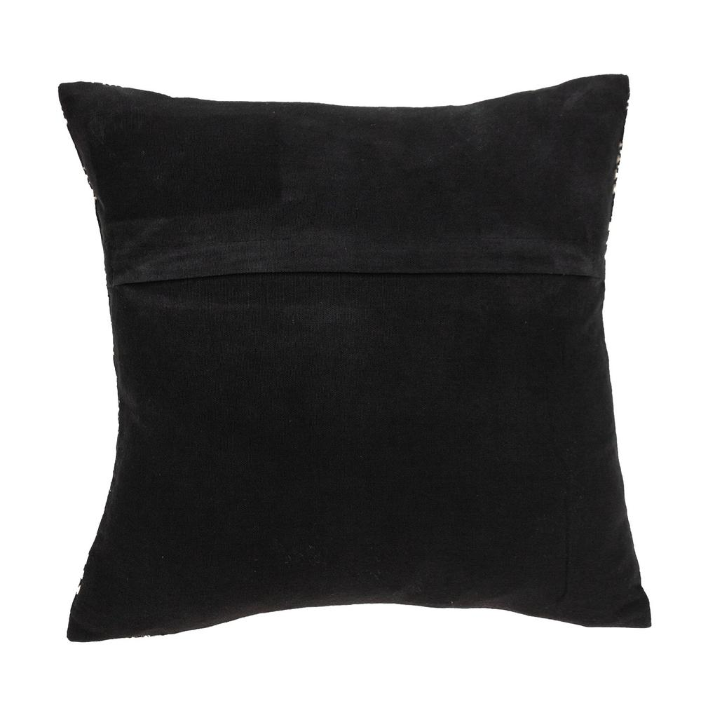 Charcoal Diamond Throw Pillow - 383099. Picture 3