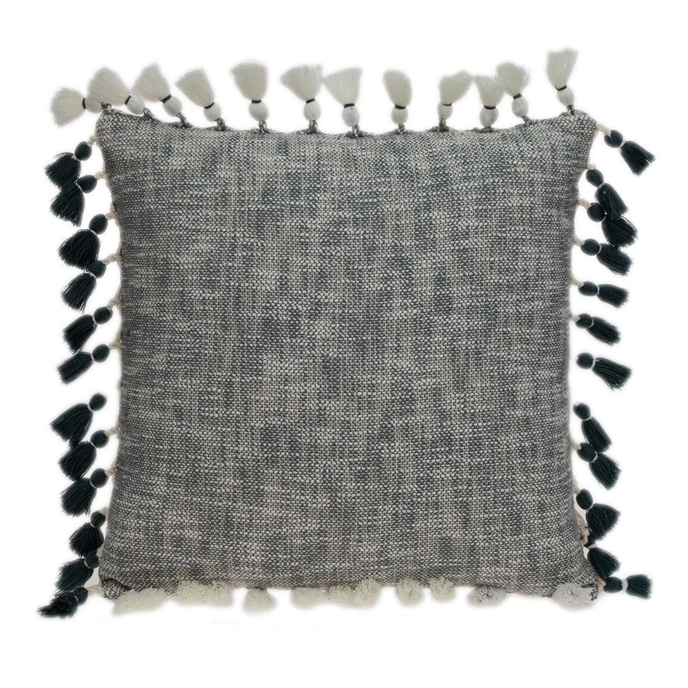 Slate Grey Throw Pillow - 383112. Picture 1