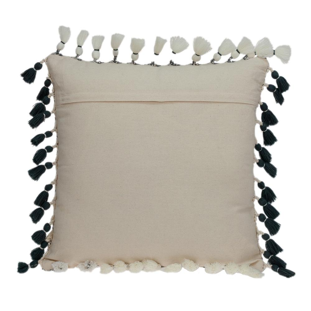 Slate Grey Throw Pillow - 383112. Picture 3