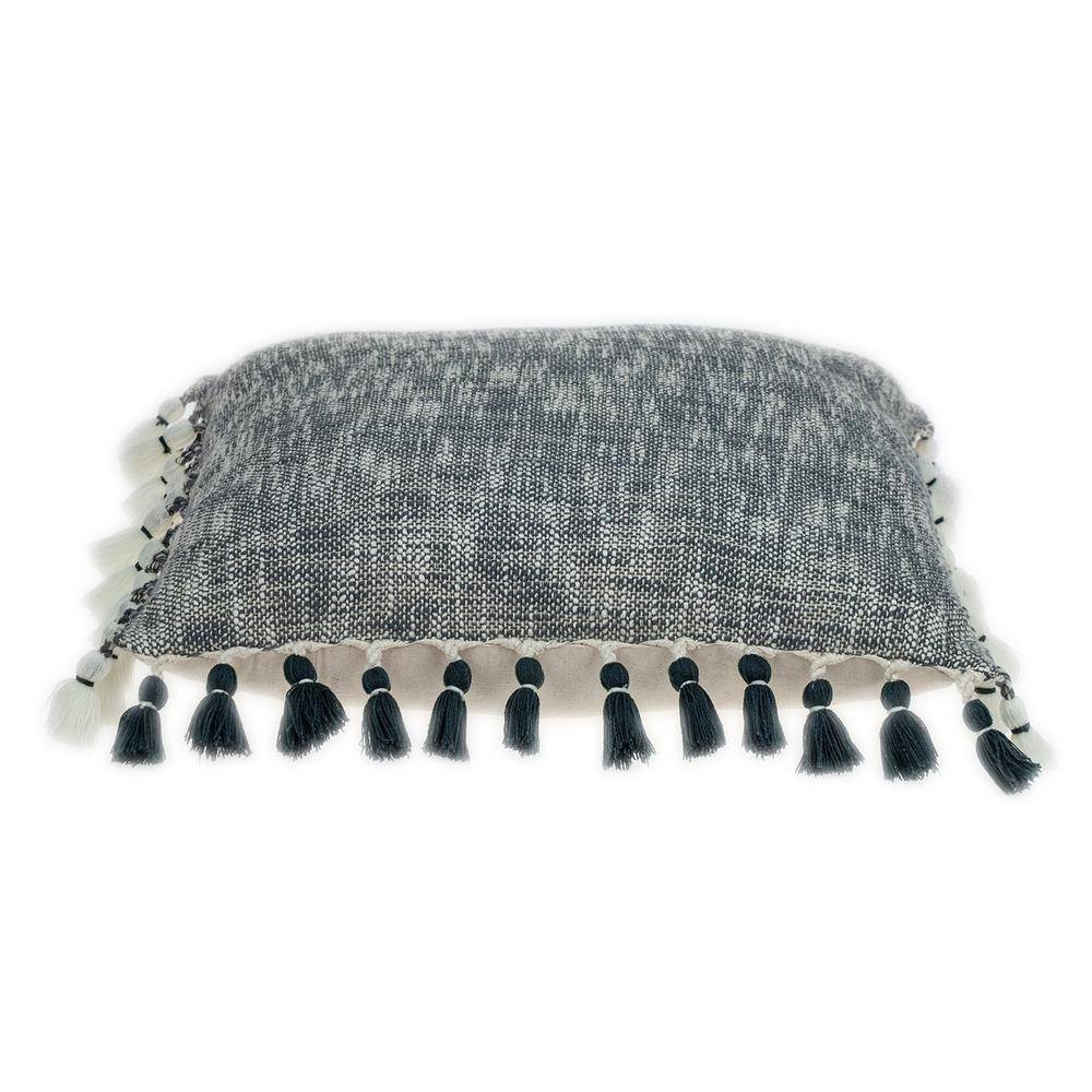 Slate Grey Throw Pillow - 383112. Picture 4