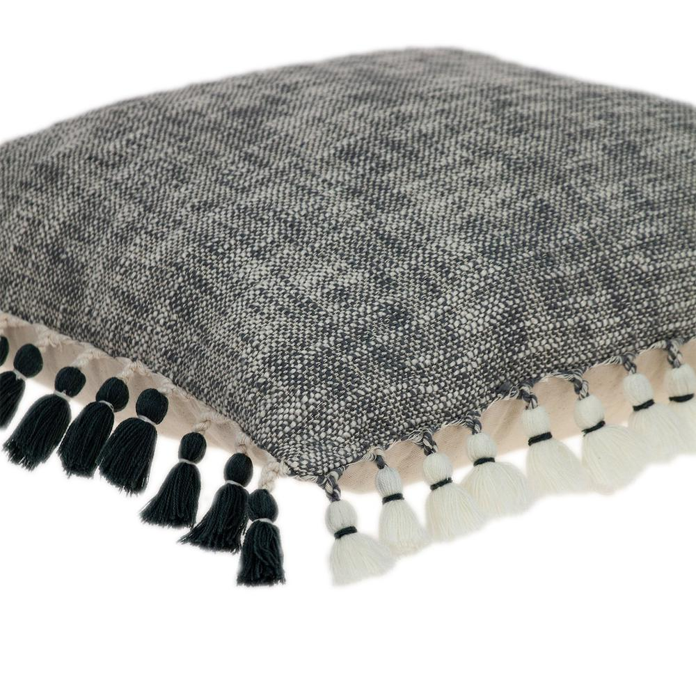 Slate Grey Throw Pillow - 383112. Picture 5