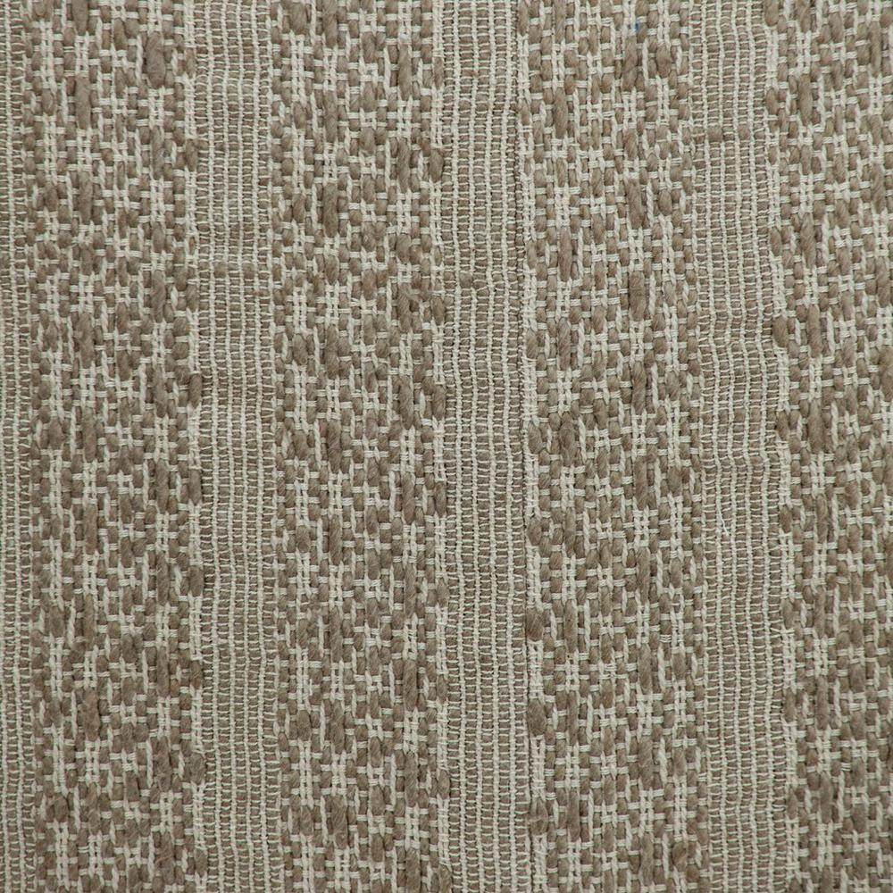 Neutral Sand Woven Throw Pillow - 383113. Picture 6