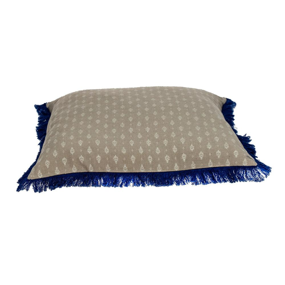 Oyster Beige Throw Pillow - 383116. Picture 4