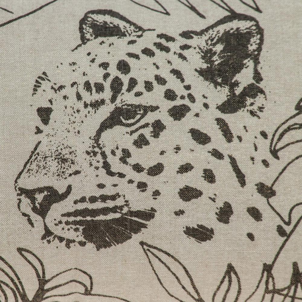 Jaguar Silhoutte Lumbar Throw Pillow - 383138. Picture 6