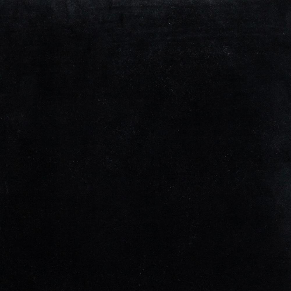 Black Velvet Two Tone Throw Pillow - 383141. Picture 6