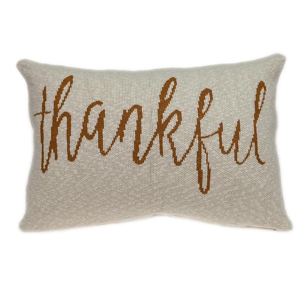 Thankful Decorative Pillow - 383151. Picture 3