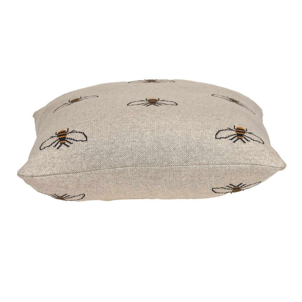 Linen Bumblee Throw Pillow - 383157. Picture 4