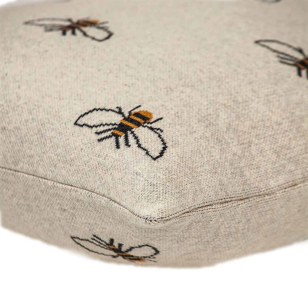 Linen Bumblee Throw Pillow - 383157. Picture 5