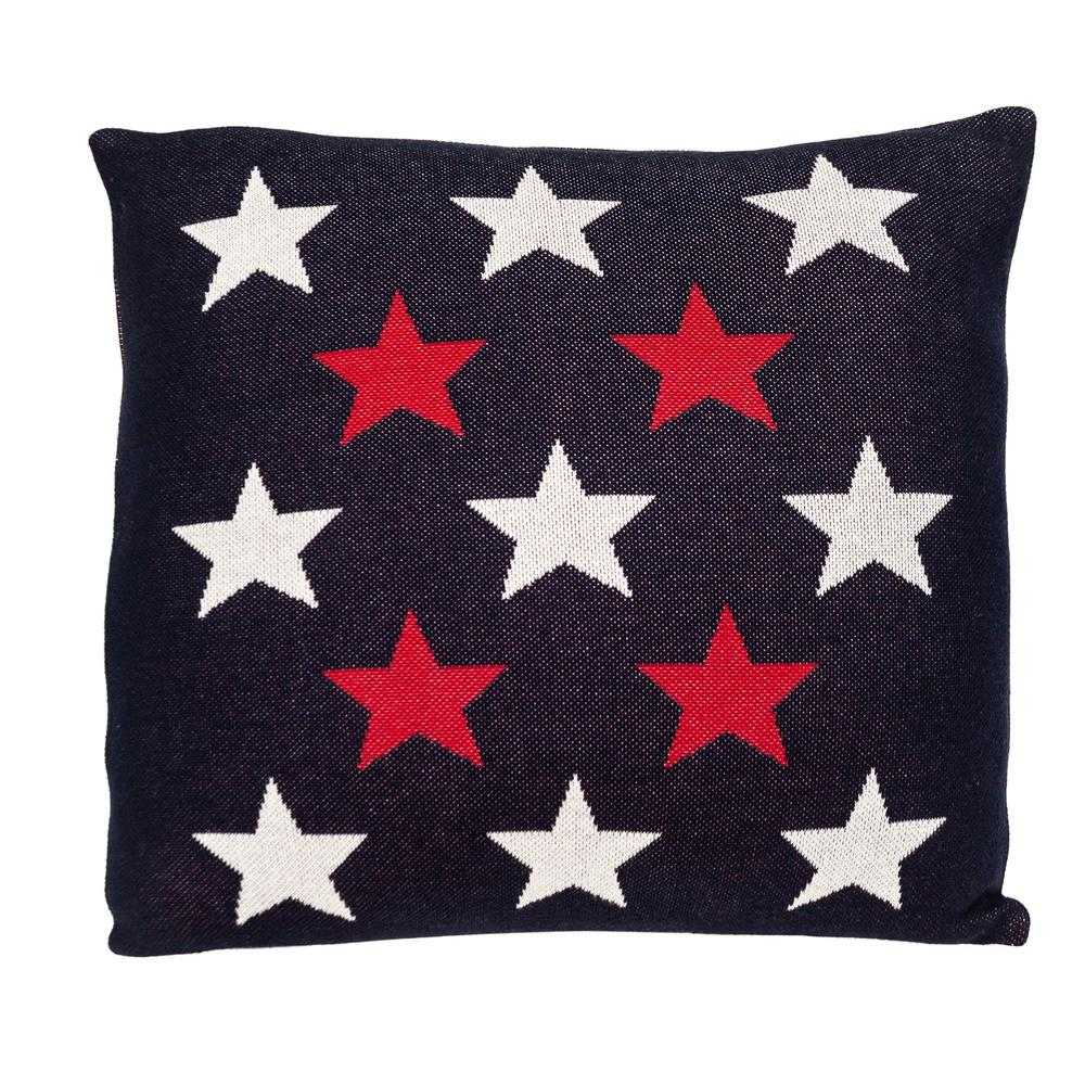 Americana Stars Throw Pillow - 383170. Picture 1