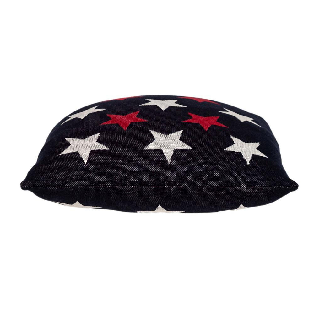 Americana Stars Throw Pillow - 383170. Picture 4