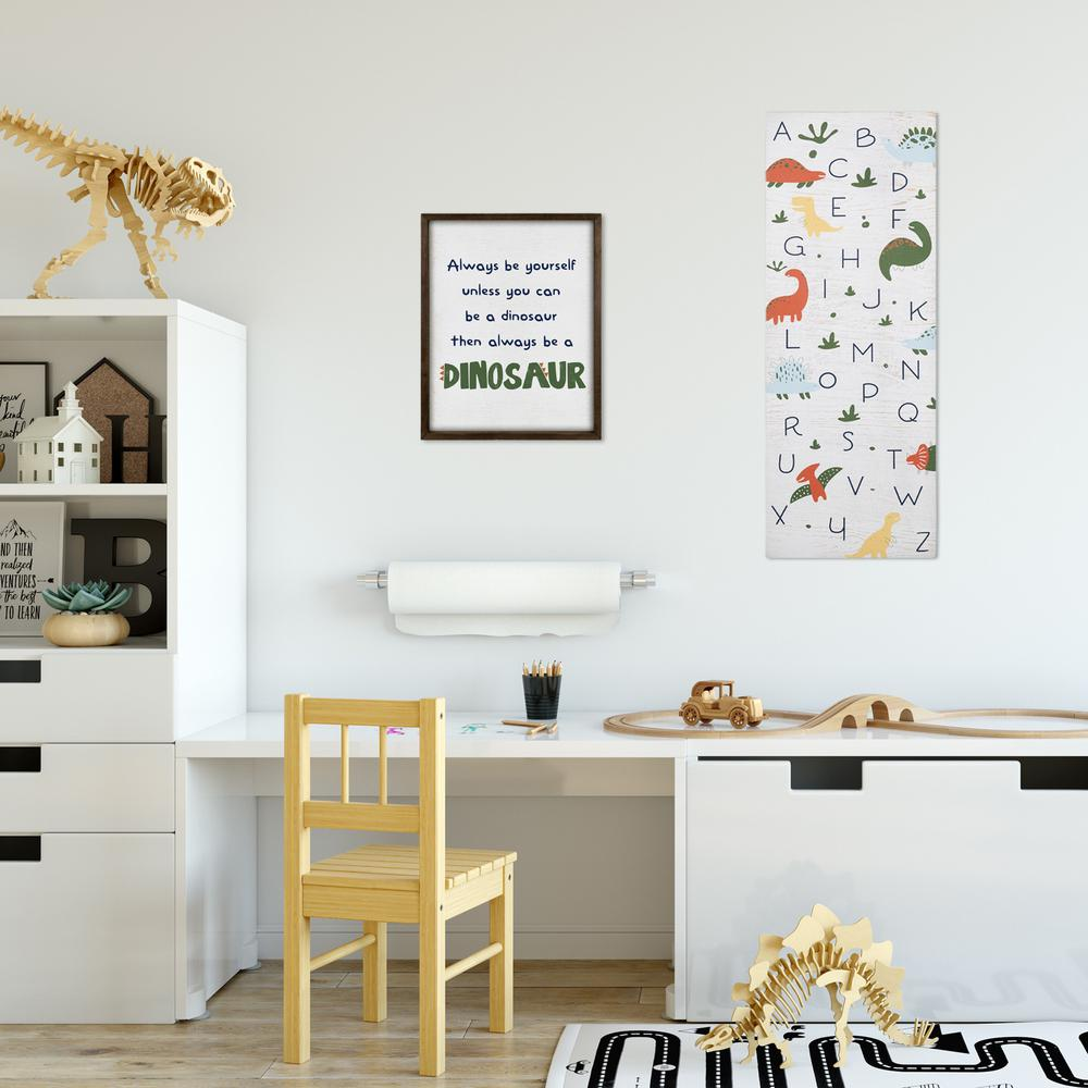 Be A Dinosaur Wooden Wall Art - 383226. Picture 2