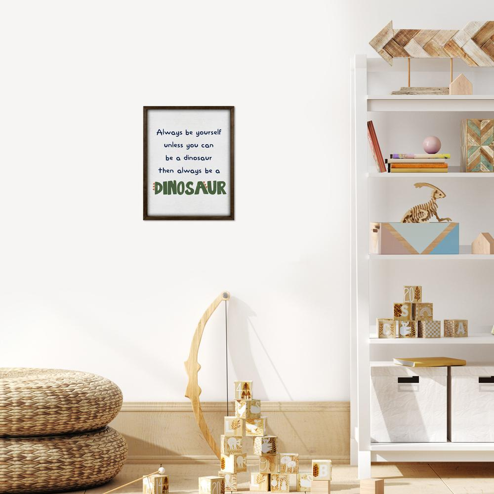 Be A Dinosaur Wooden Wall Art - 383226. Picture 6