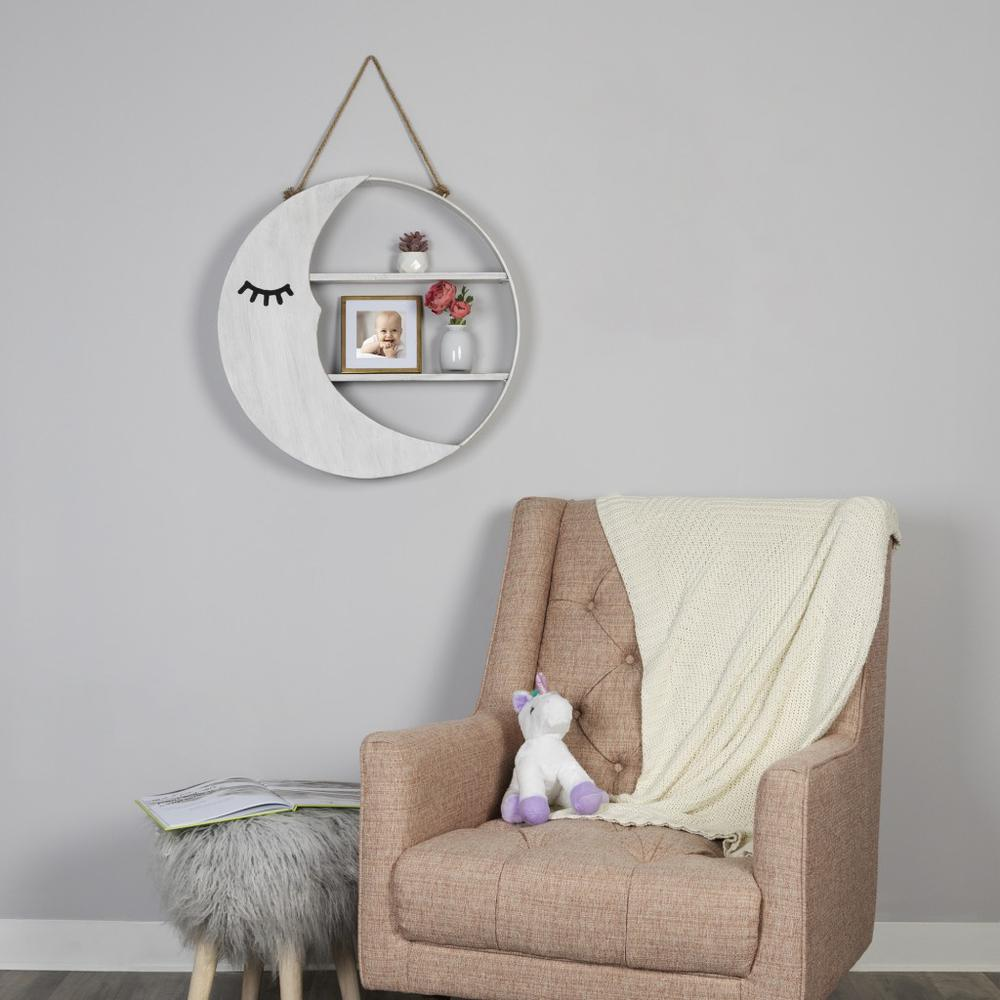 Good Night Mr. Moon Wooden Wall Shelf - 383227. Picture 6