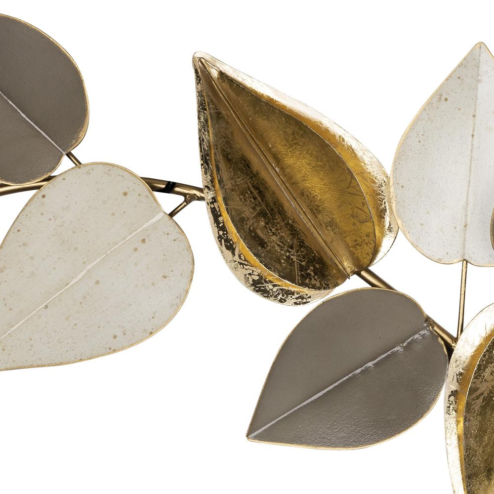 Metal Leaves Modern Centerpiece - 383239. Picture 3