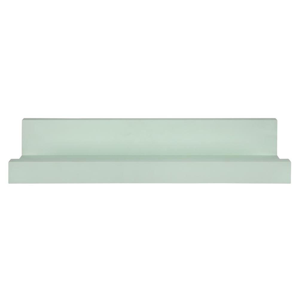 Pale Green Floating Shelf - 383249. Picture 1