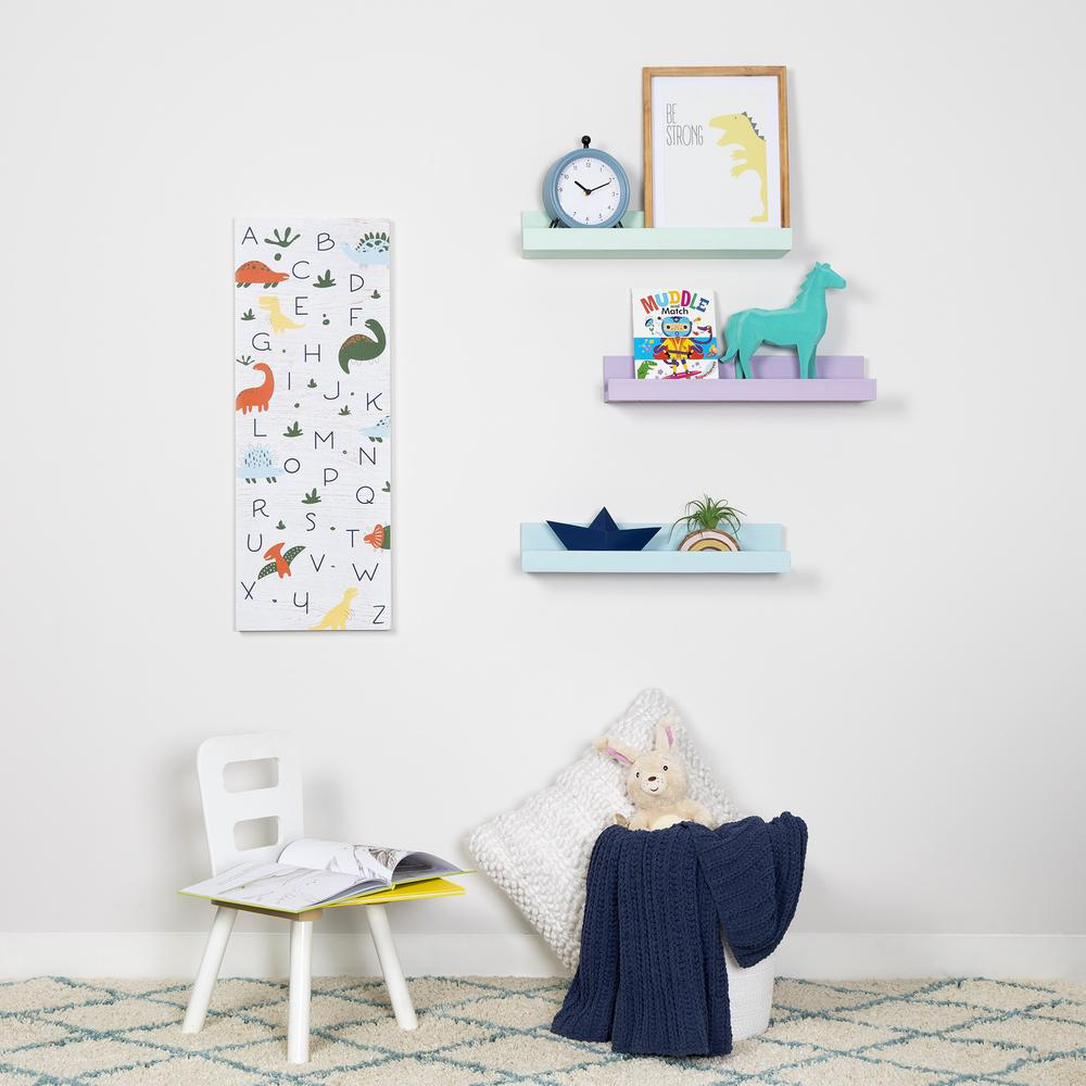Pale Green Floating Shelf - 383249. Picture 7