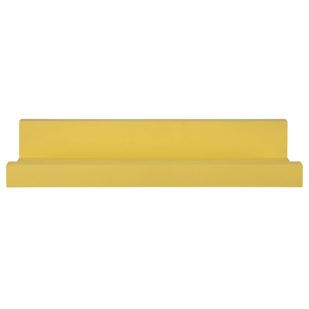 Bright Yellow Floating Shelf - 383251. Picture 1