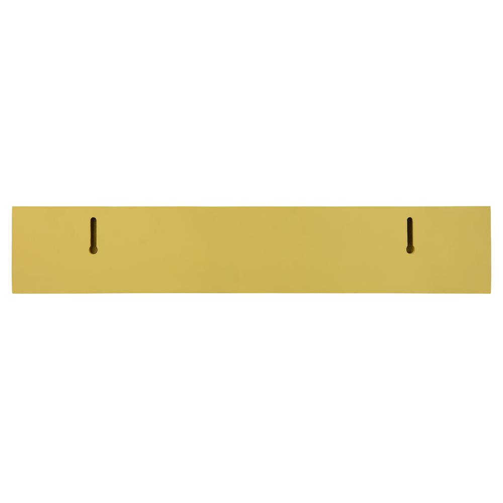 Bright Yellow Floating Shelf - 383251. Picture 4