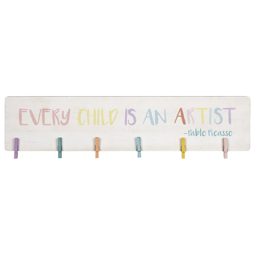 Every Child is an Artist Clip Photo Holder - 383255. Picture 1