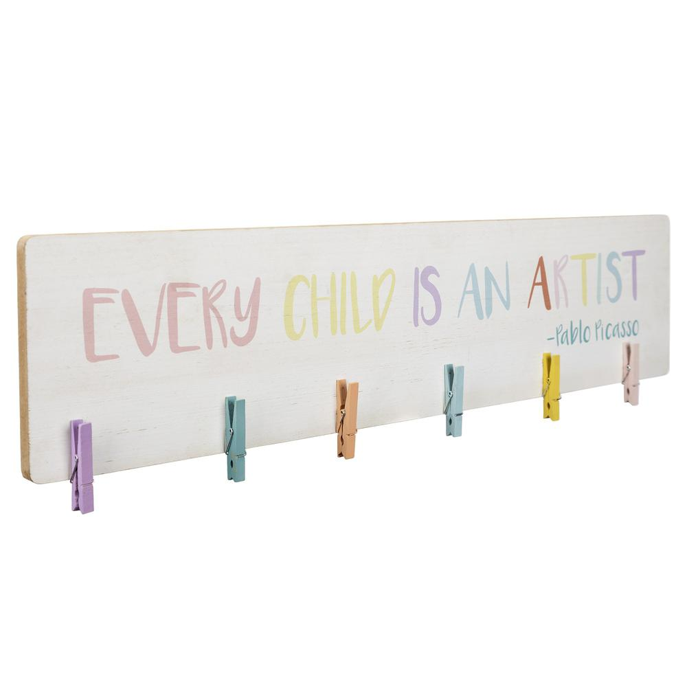 Every Child is an Artist Clip Photo Holder - 383255. Picture 7