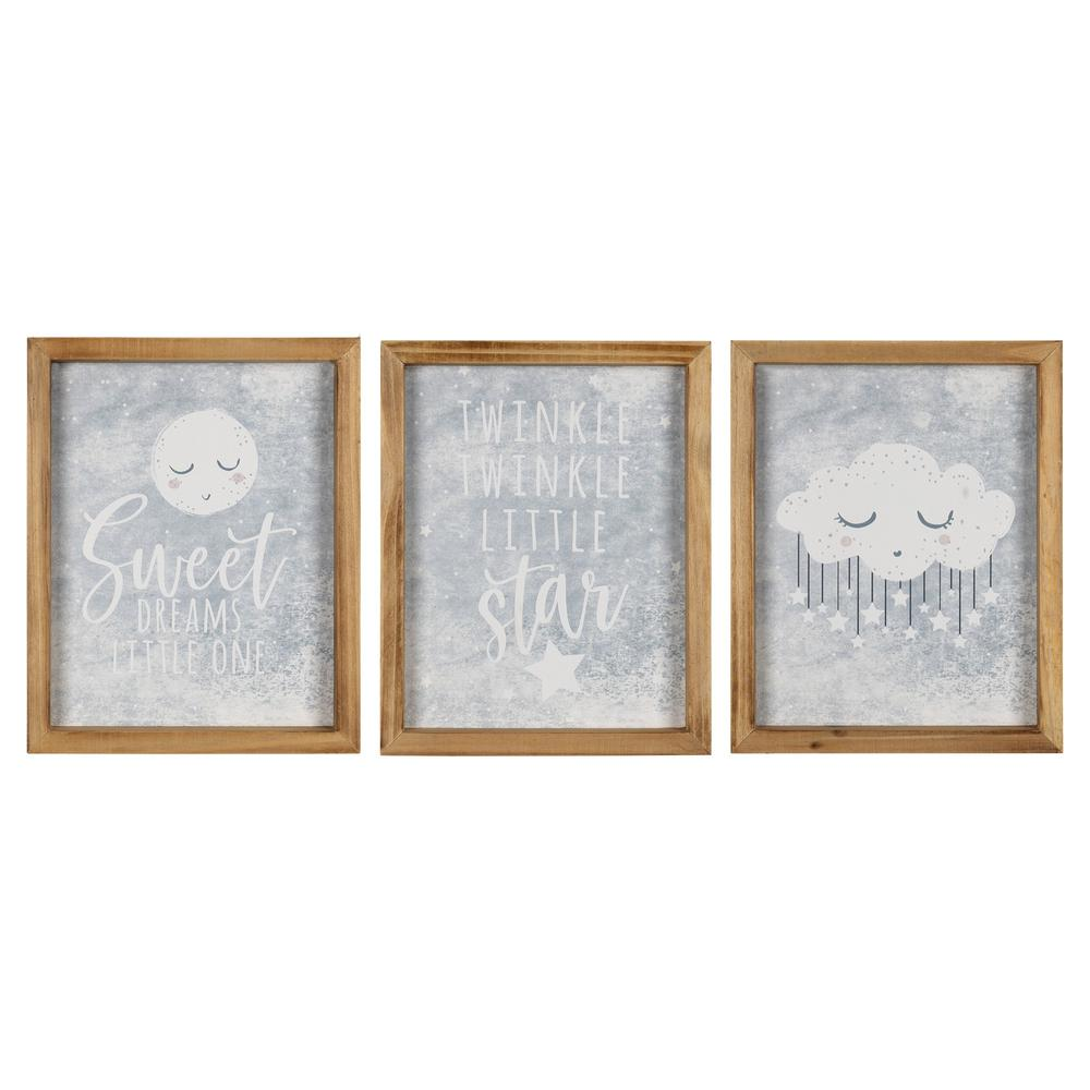 Sweet Dreams Peaceful Wall Art Set - 383256. Picture 1