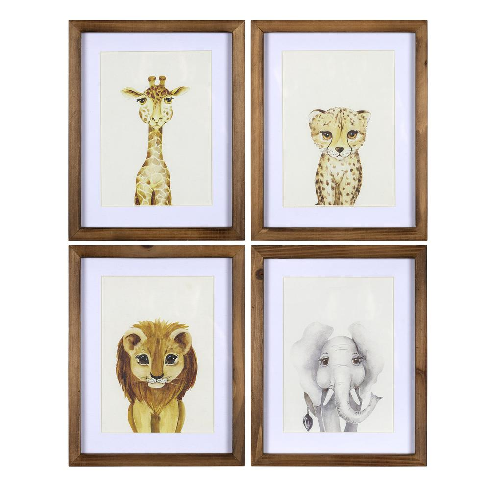 Jungle Animals Wall Art Set - 383263. Picture 1