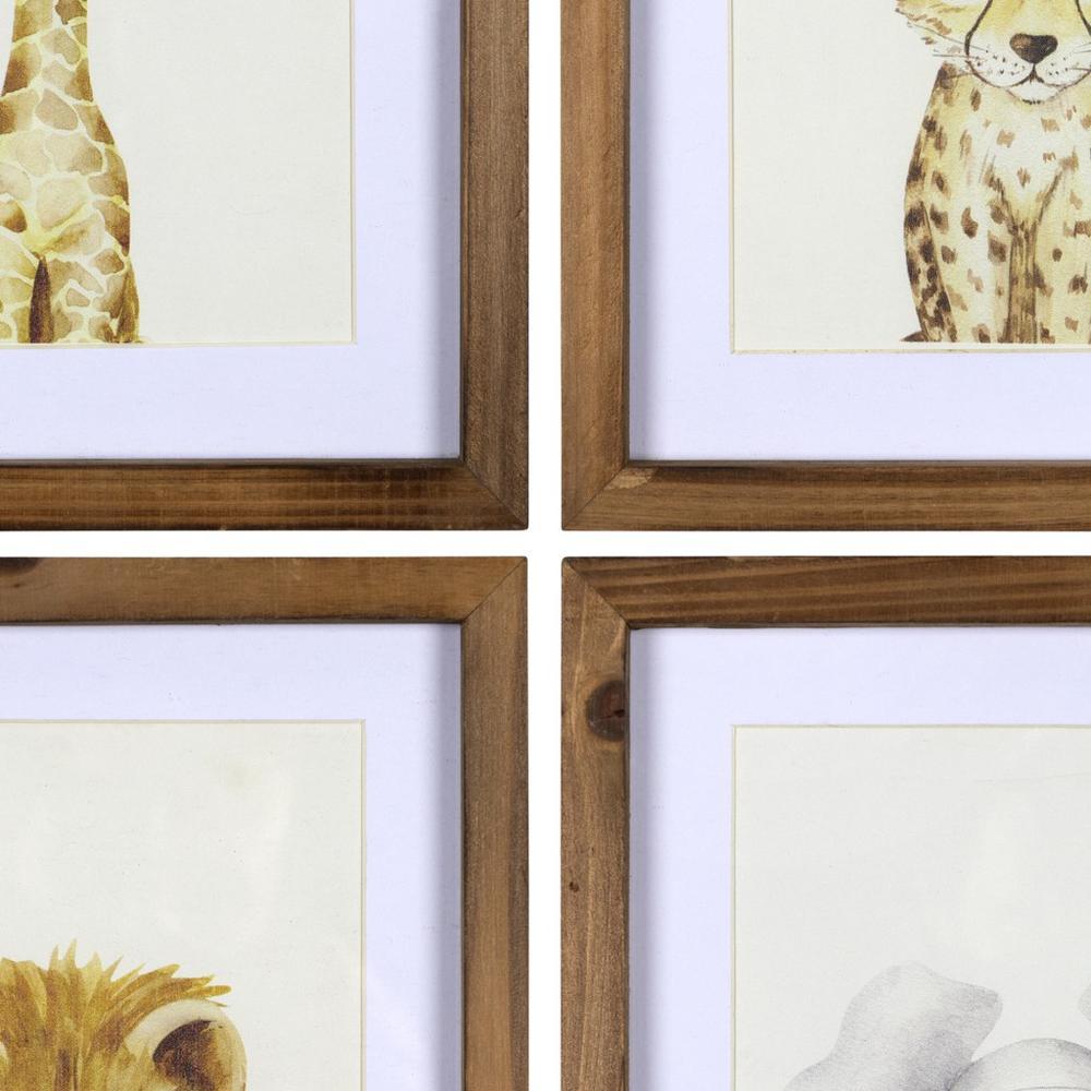 Jungle Animals Wall Art Set - 383263. Picture 3