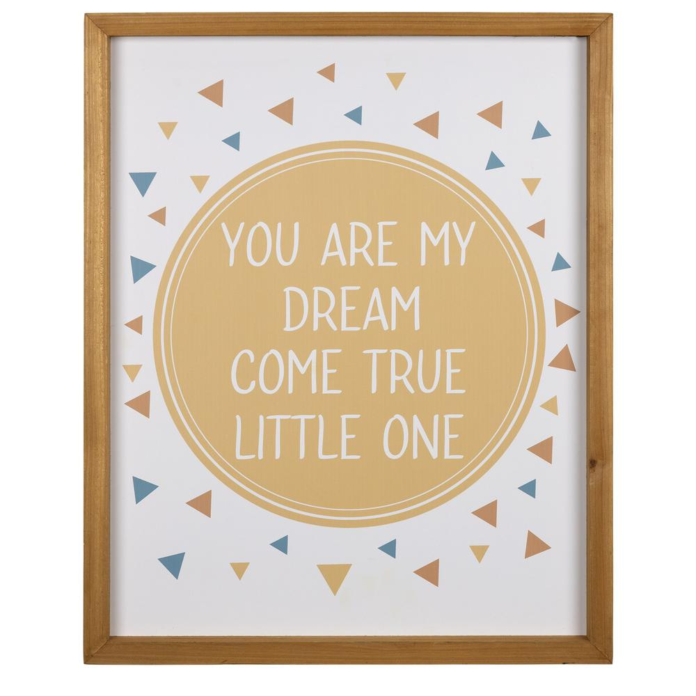 My Dream Come True Wooden Wall Art - 383266. Picture 1