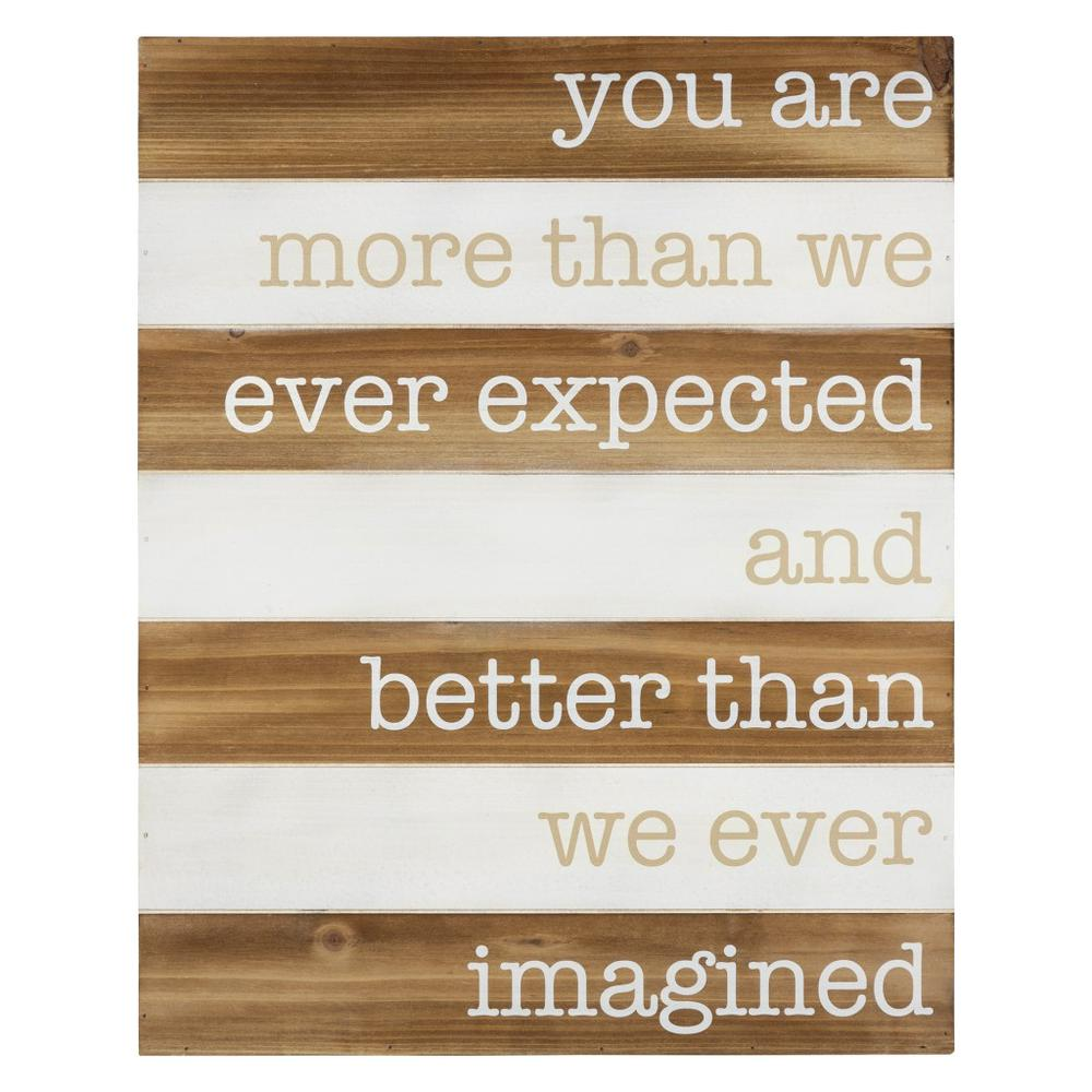 Better than Imagined Wooden Wall Art - 383267. Picture 1