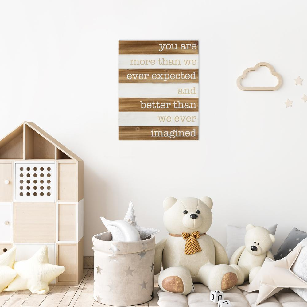 Better than Imagined Wooden Wall Art - 383267. Picture 6