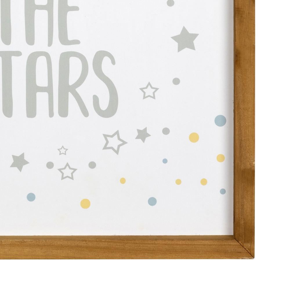 Reach for the Stars Wooden Wall Art - 383269. Picture 3