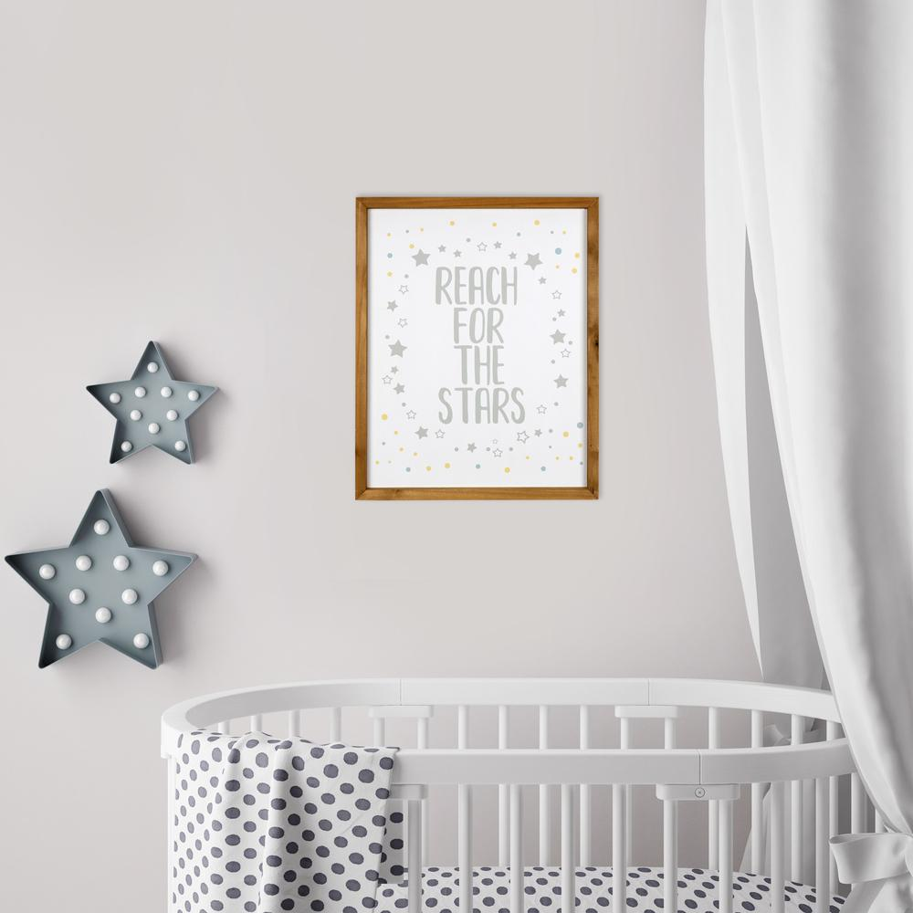 Reach for the Stars Wooden Wall Art - 383269. Picture 6