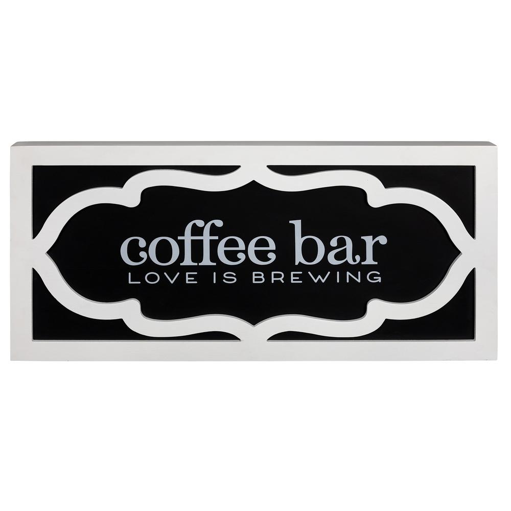 Coffee Bar Love Wooden Wall Décor - 383270. Picture 1