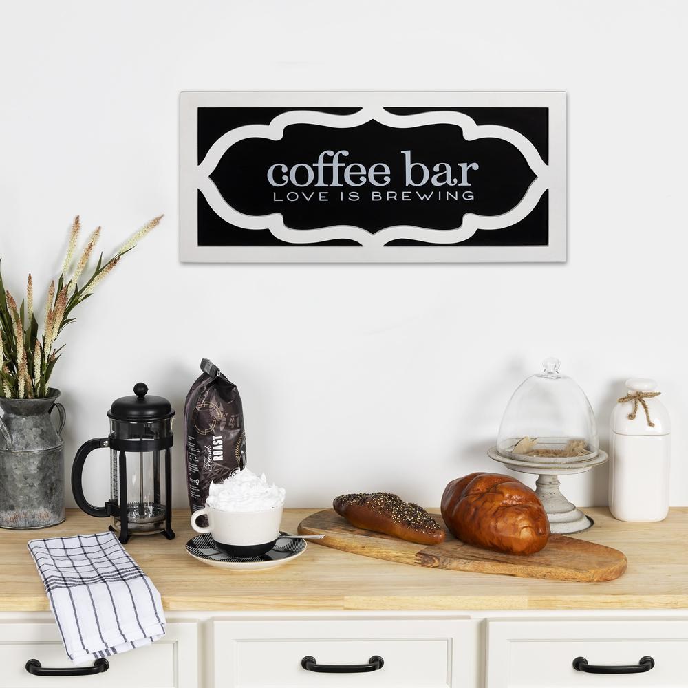 Coffee Bar Love Wooden Wall Décor - 383270. Picture 2