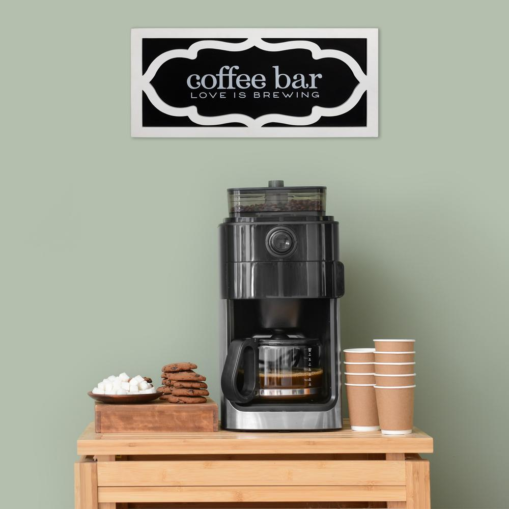 Coffee Bar Love Wooden Wall Décor - 383270. Picture 6