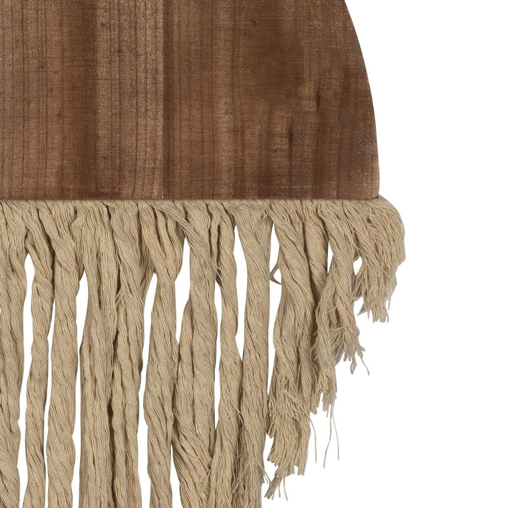 Semi Circle Macrame Wooden Wall Décor - 383277. Picture 3