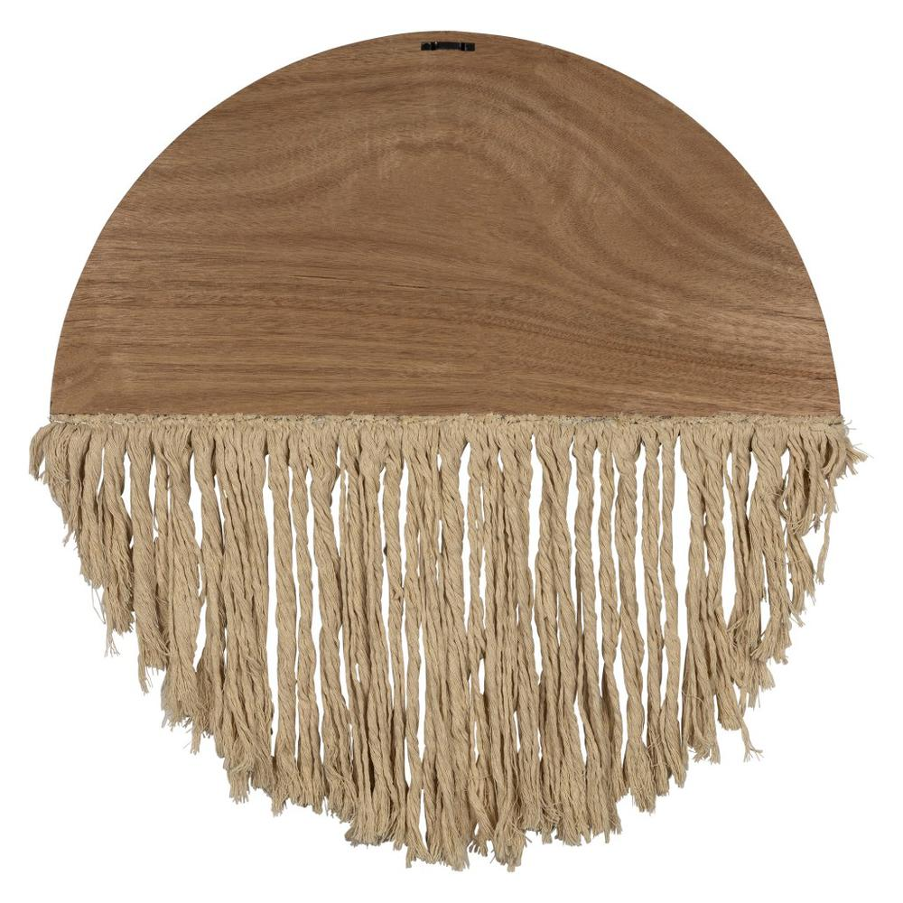 Semi Circle Macrame Wooden Wall Décor - 383277. Picture 5