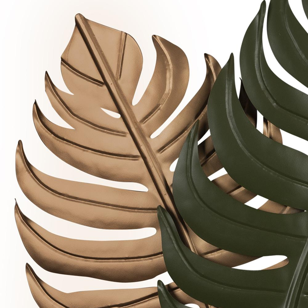 Copper and Green Botanical Wall Décor - 383278. Picture 3