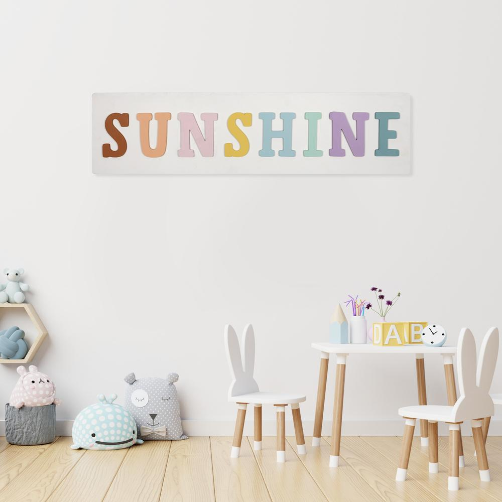 Sunshine Colorful Wall Art - 383285. Picture 6