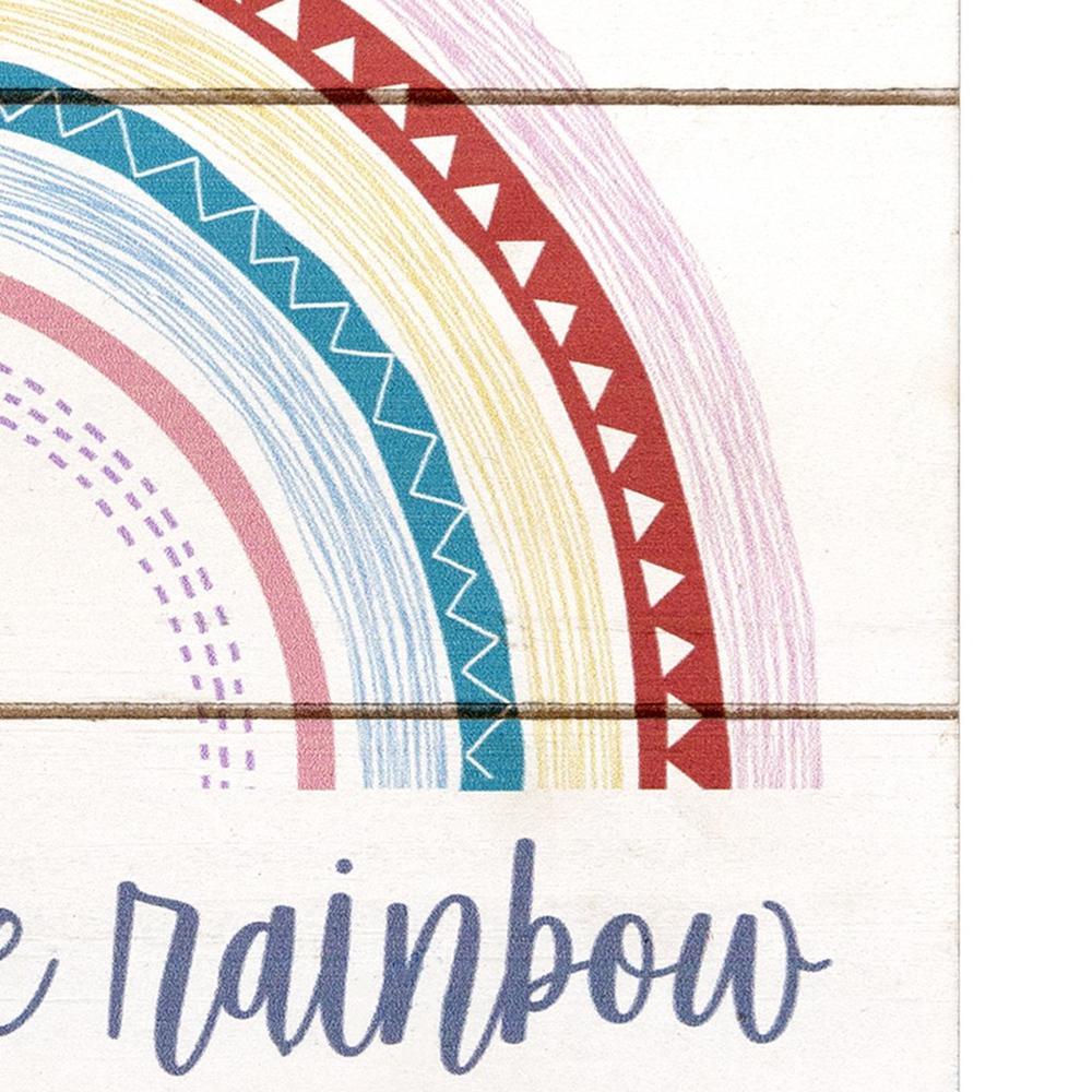 Hello Little Rainbow Wall Art - 383286. Picture 3
