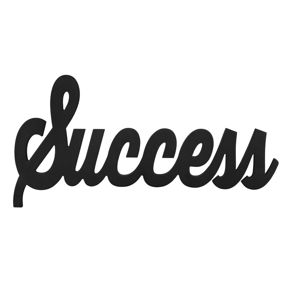 Hand Painted Wooden Success Wall Art - 383292. Picture 1