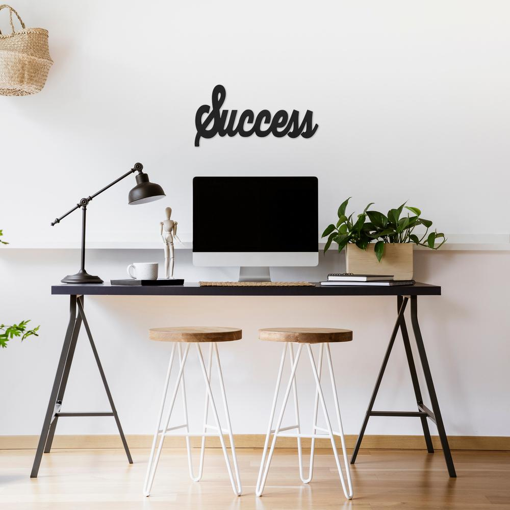 Hand Painted Wooden Success Wall Art - 383292. Picture 2