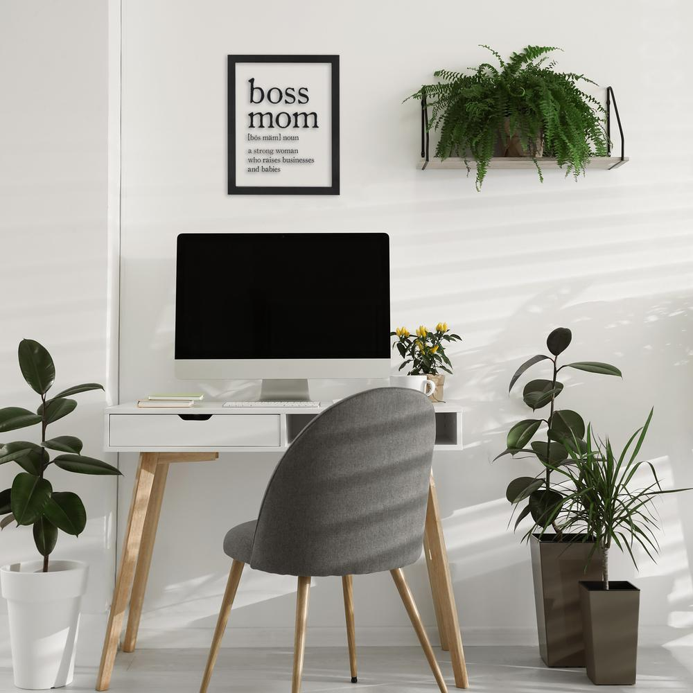 Black and White Boss Mom Wall Art - 383295. Picture 2