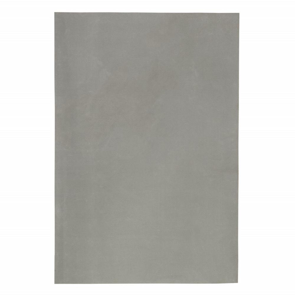 8' Round Grey Premier Rug Pad - 383613. Picture 3