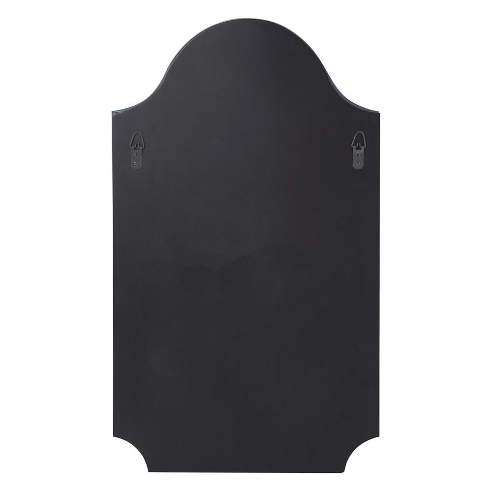 Minimalist Rectangle Arched Glass Mirror with Beveled Edge And Scalloped Corners - 383711. Picture 5
