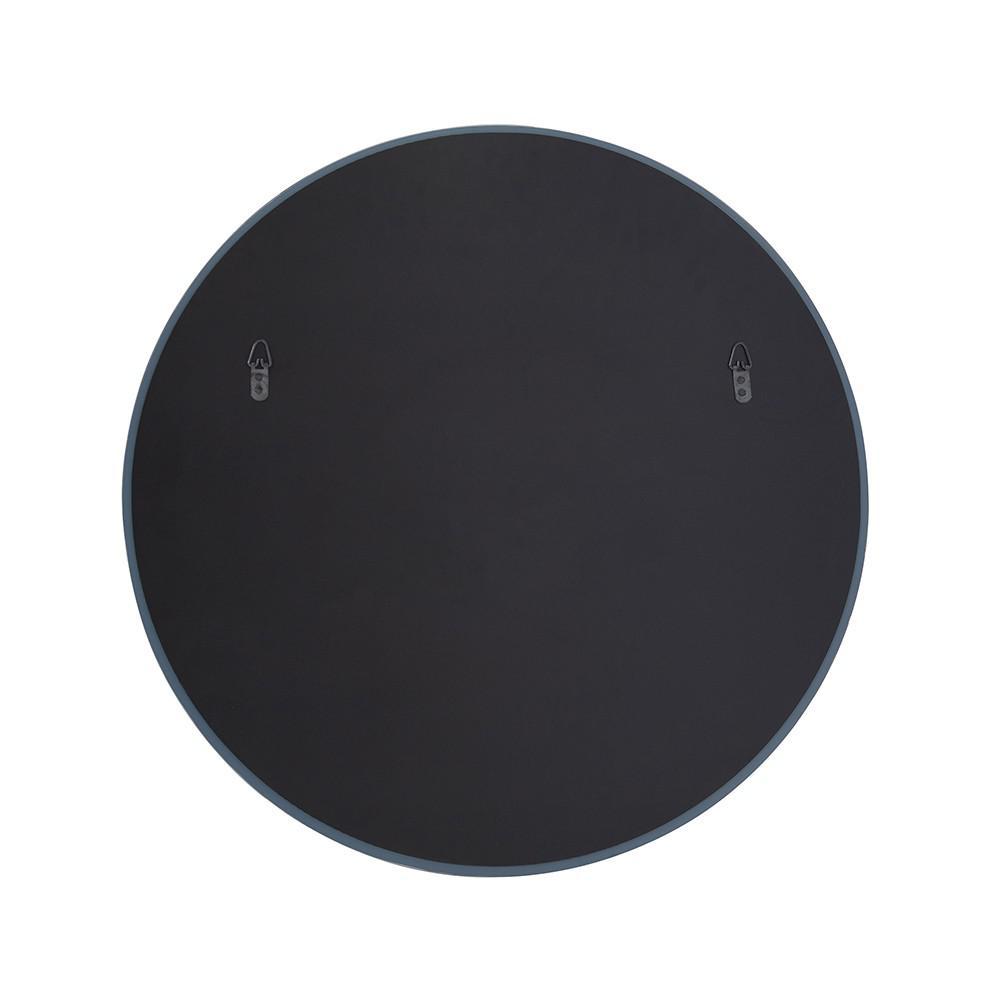"12"" x 12"" Minimalist Round Mirror with Beveled Edge - 383717. Picture 4"